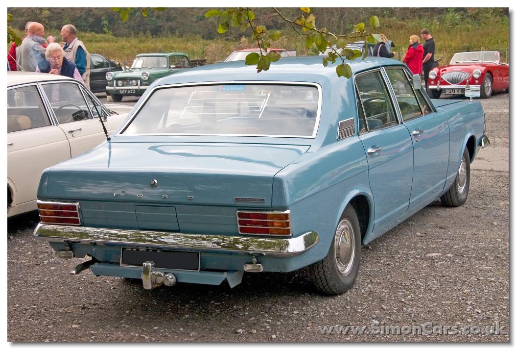 Ford Zephyr 1961 foto - 1