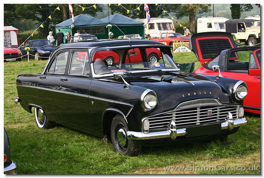 Ford Zodiac 1958 foto - 1