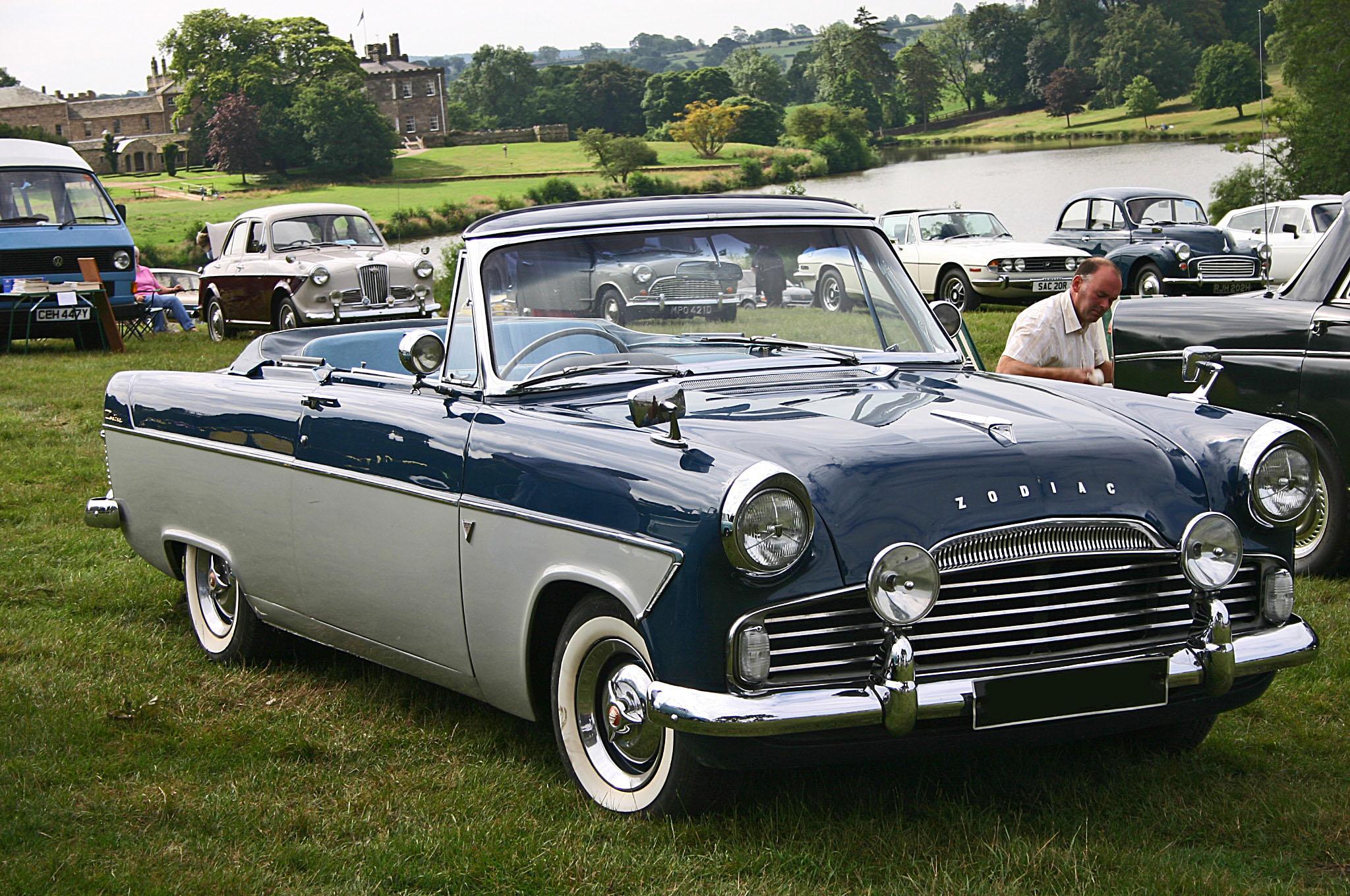 Ford Zodiac 1958 foto - 4