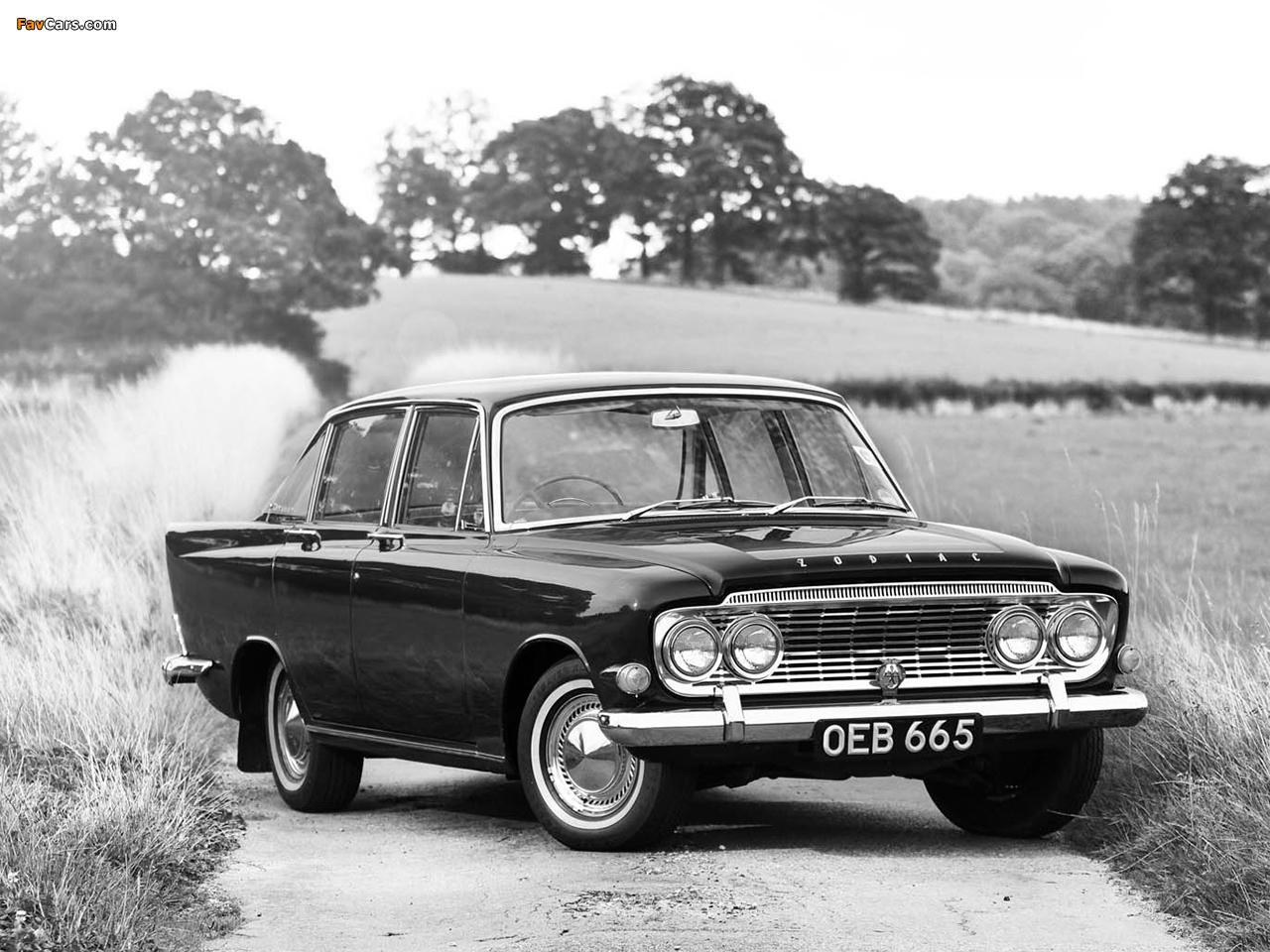 Ford Zodiac 1962 foto - 5