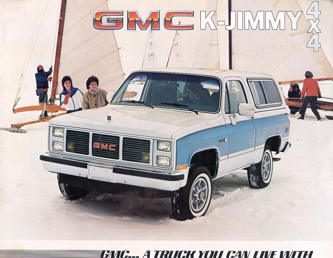 GMC Jimmy 1985 foto - 1