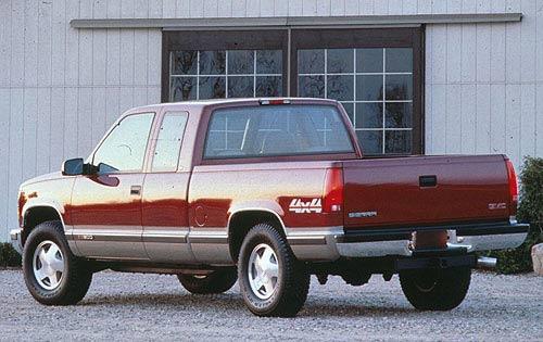 GMC Sierra 1996 foto - 3