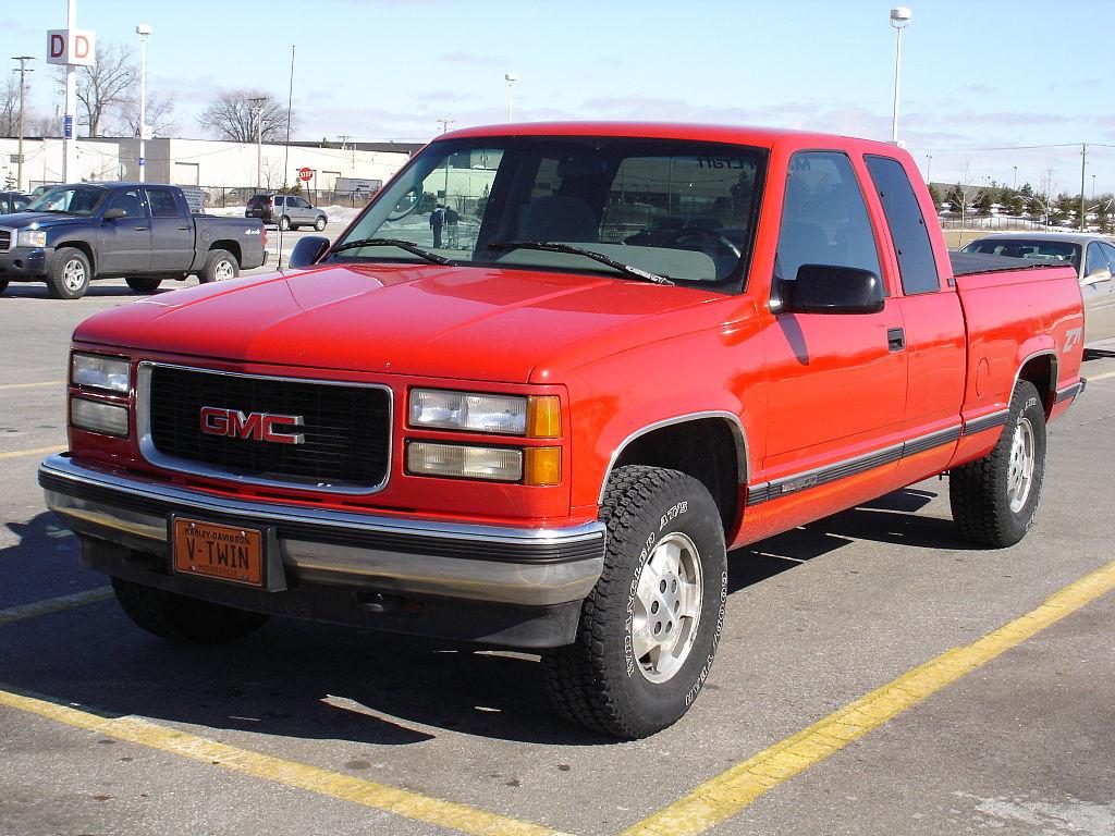 GMC Sierra 1996 foto - 5