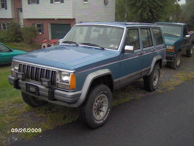 Jeep Cherokee 1991 foto - 4