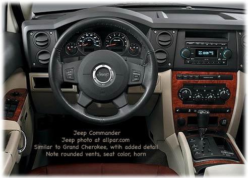 Jeep Commander 2007 foto - 1