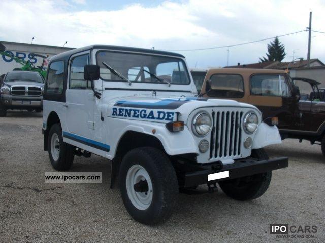 Jeep Renegade 1980 foto - 3