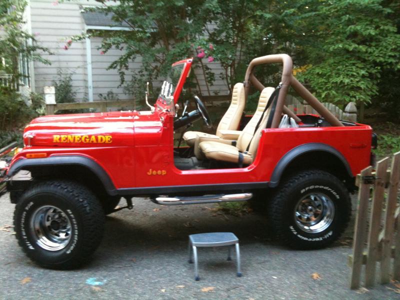 Jeep Renegade 1980 foto - 5