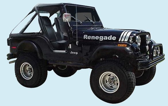 Jeep Renegade 1995 foto - 1