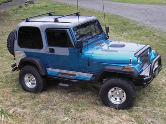 Jeep Renegade 1995 foto - 4