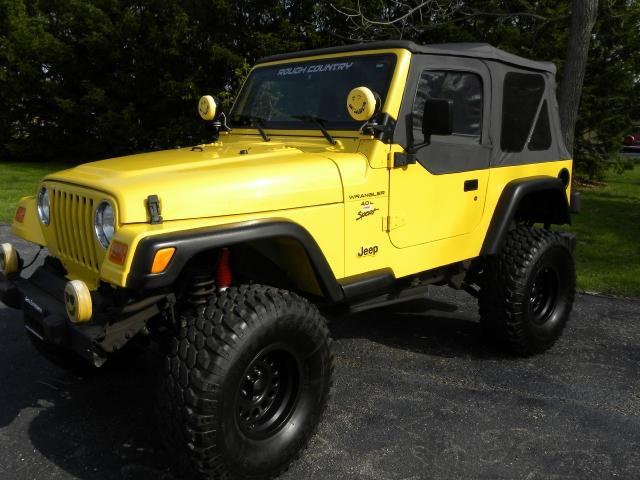 Jeep Wrangler 2000 foto - 3