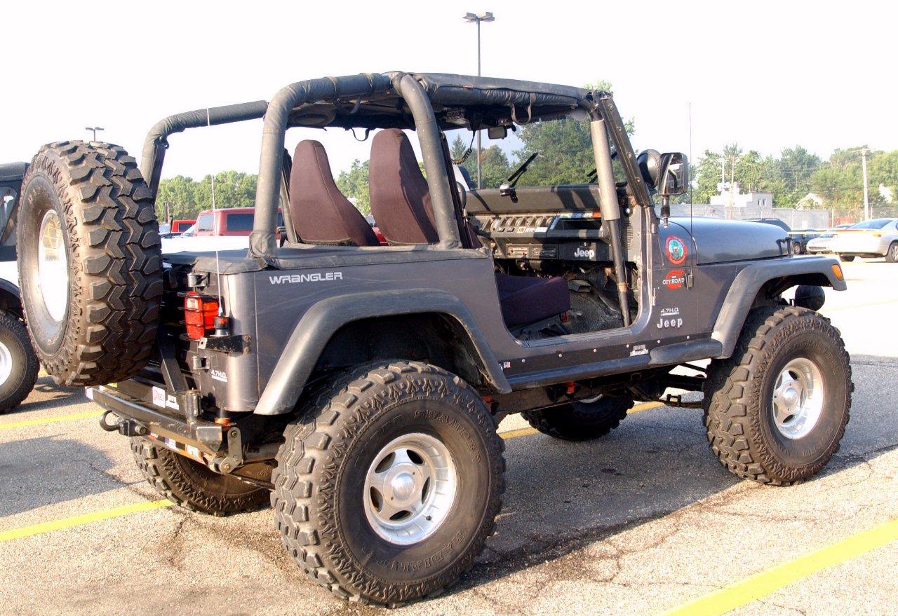 Jeep Wrangler 2002 foto - 2