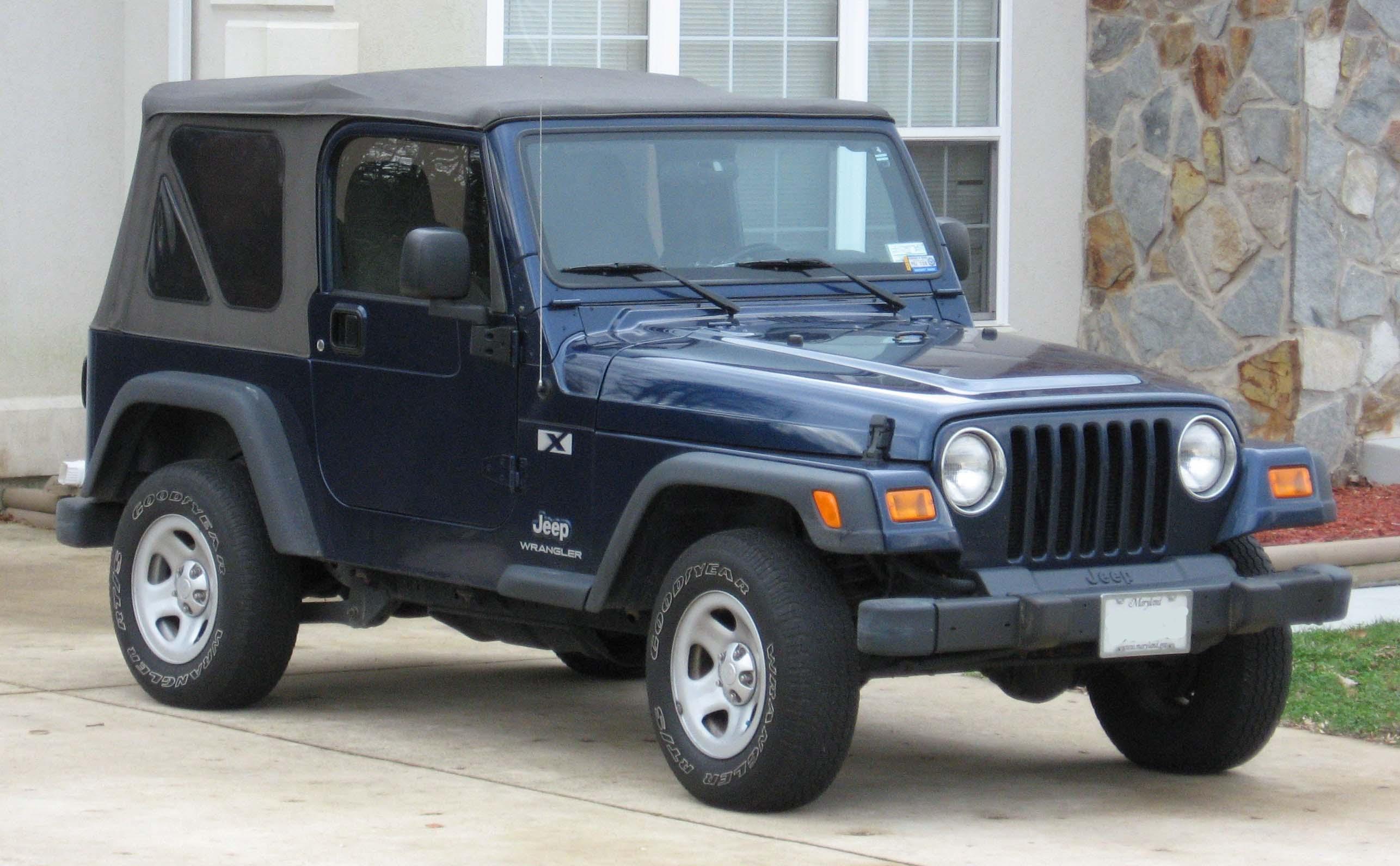 Jeep Wrangler 2002 foto - 3